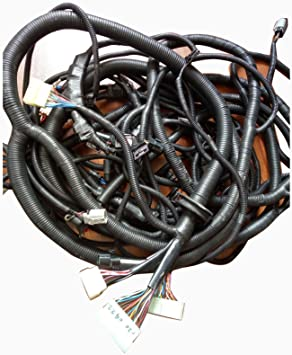 Amazon.com: DH150W-7 Wheel Complete Wiring Harness - SINOCMP Harness For  Daewoo Doosan DH150W-7 Wheel Excavator Parts, Switch Box Engine Monitor  Electrical Box Left Wiring Harness 3 Month Warranty (complete): AutomotiveAmazon.com