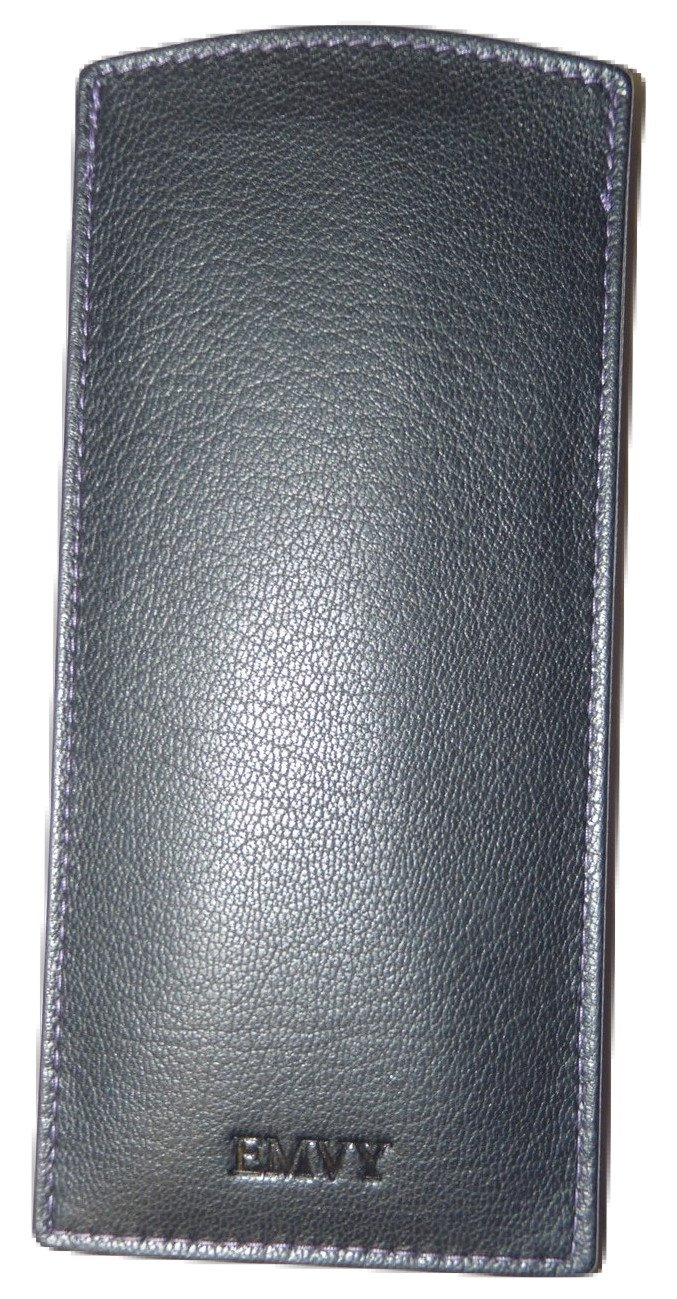 Slim Soft Leather Glasses case by Love Emvy- Slip in Sleeve EMV102