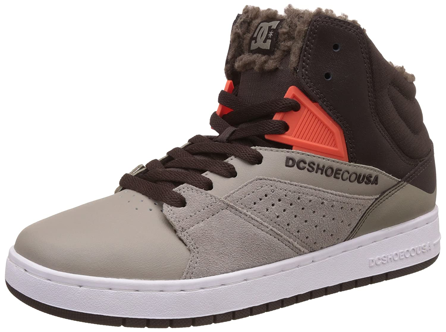 DC Herren Seneca High-Top  6.0|Brown/Grey