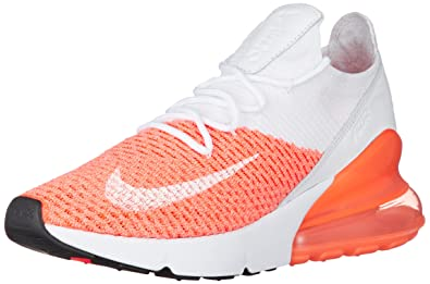 f0db5dde9e85e NIKE Women's WMNS Air Max 270 Flyknit, Crimson Pulse/White, ...