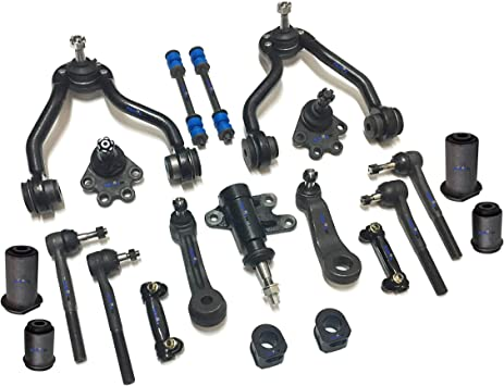 21 Pc Suspension Kit for Chevrolet//GMC Control Arm Sway Bar Ball Joints Tie Rods