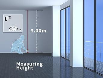 Test Kaleas Profi Laser Entfernungsmesser Ldm 500 : Etekcity professional digital laser entfernungsmesser 0 05 80m