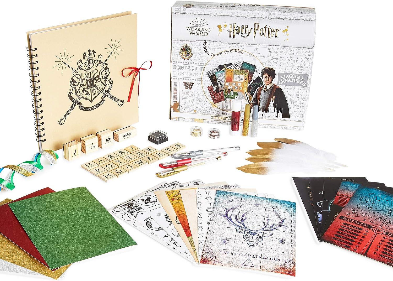HARRY POTTER Album de Manualidades Niños con Pegatinas Scrapbooking y Otros Materiales para Actividades Creativas , Regalos Originales para Niñas, Niños y Adolescentes