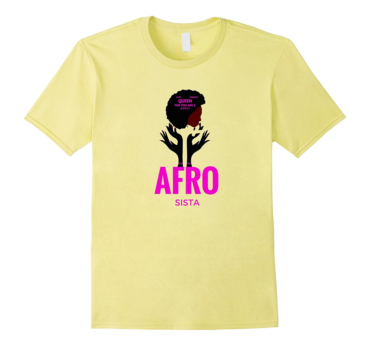 NATURAL SISTA UNISEX shirt Black Girl PRIDE Gift T shirts-FL