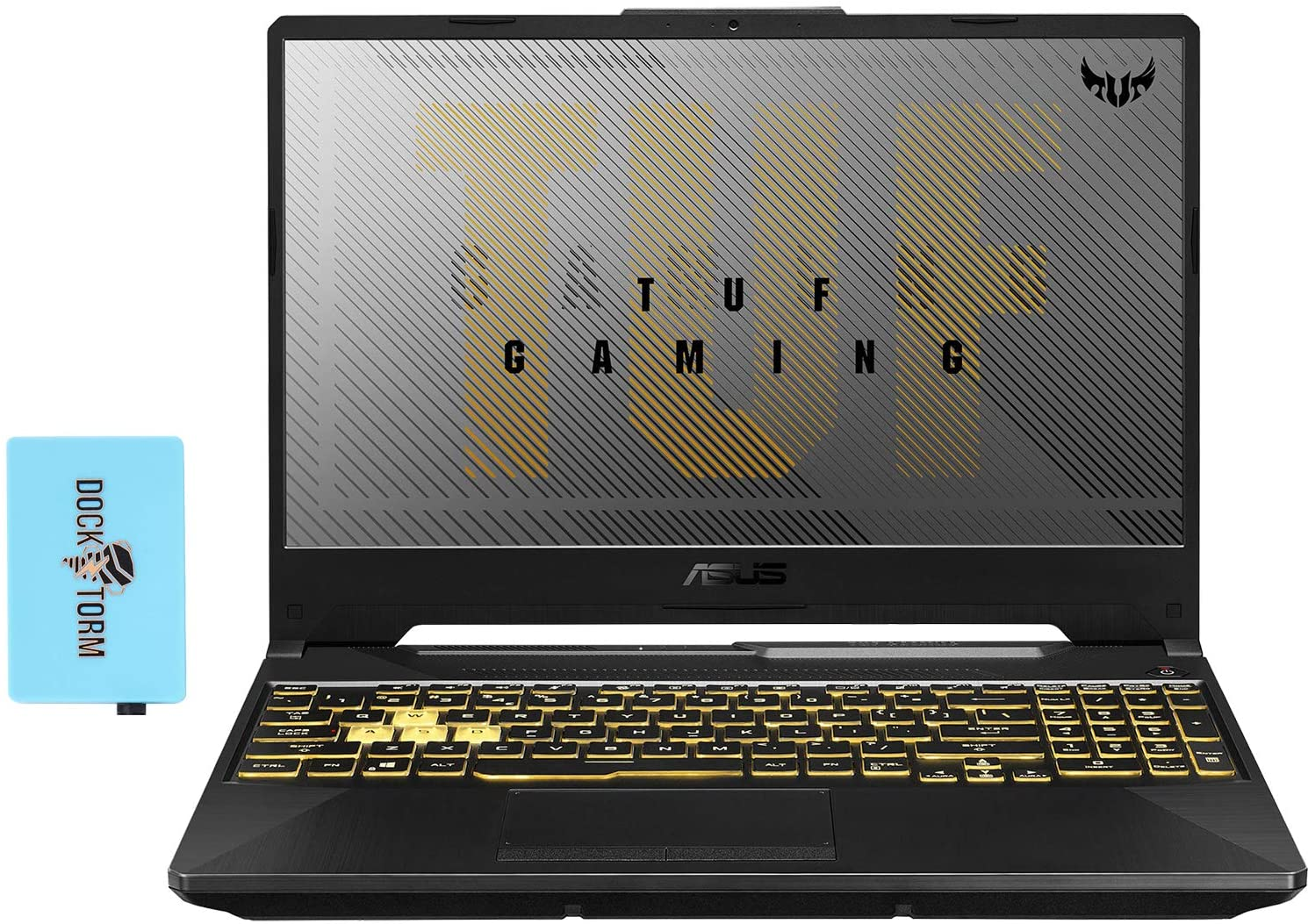 ASUS TUF A15 Gaming and Entertainment Laptop (AMD Ryzen 7 4800H 8-Core, 16GB RAM, 512GB PCIe SSD, GTX 1650 Ti, 15.6