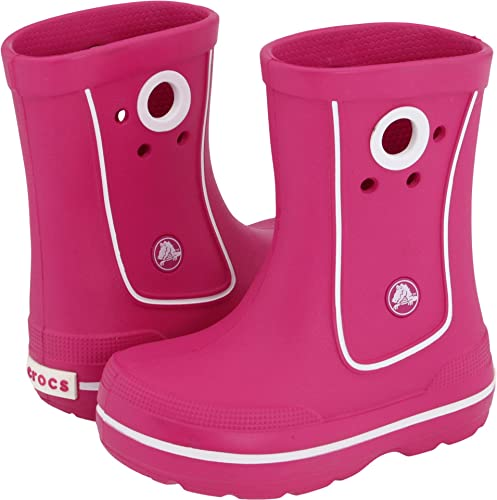 546966d8e crocs Crocband Jaunt Girls Boot in Pink  Buy Online at Low Prices in India  - Amazon.in