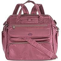 Lug Women's Via Travel Duffel Bag, Shimmer Wine, One Size