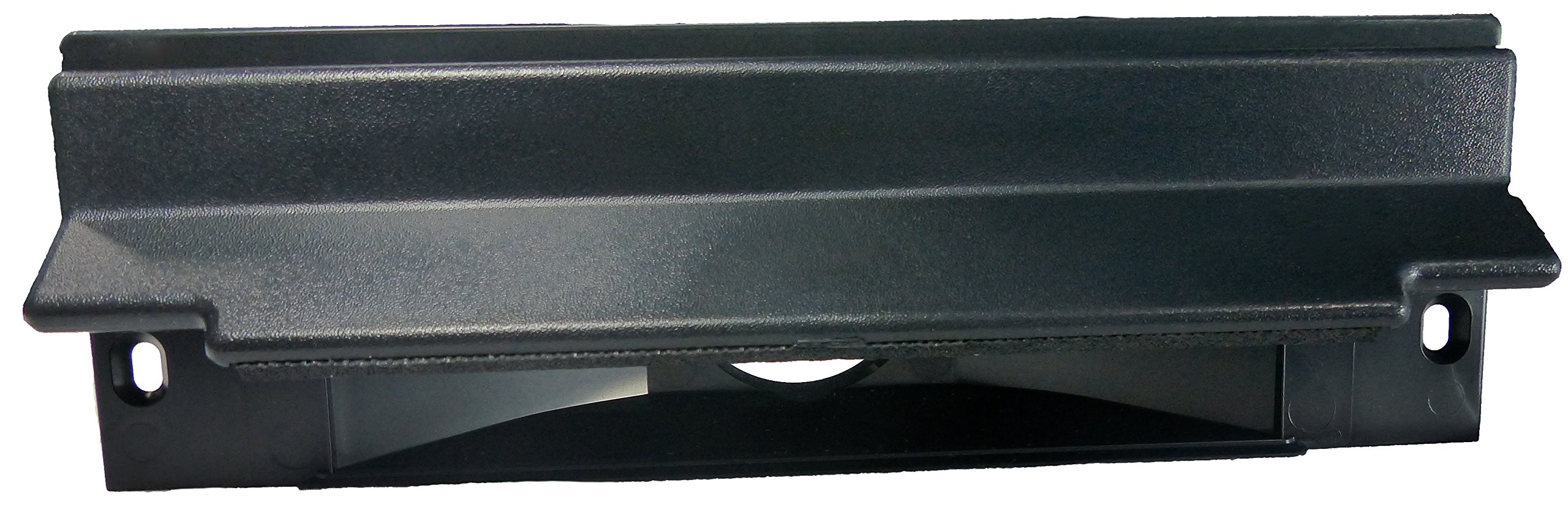 Central Vacuum Sweep Inlet. CanSweep Dustpan Inlet Valve (Black) for under counter and baseboard installation for central vacuum systems