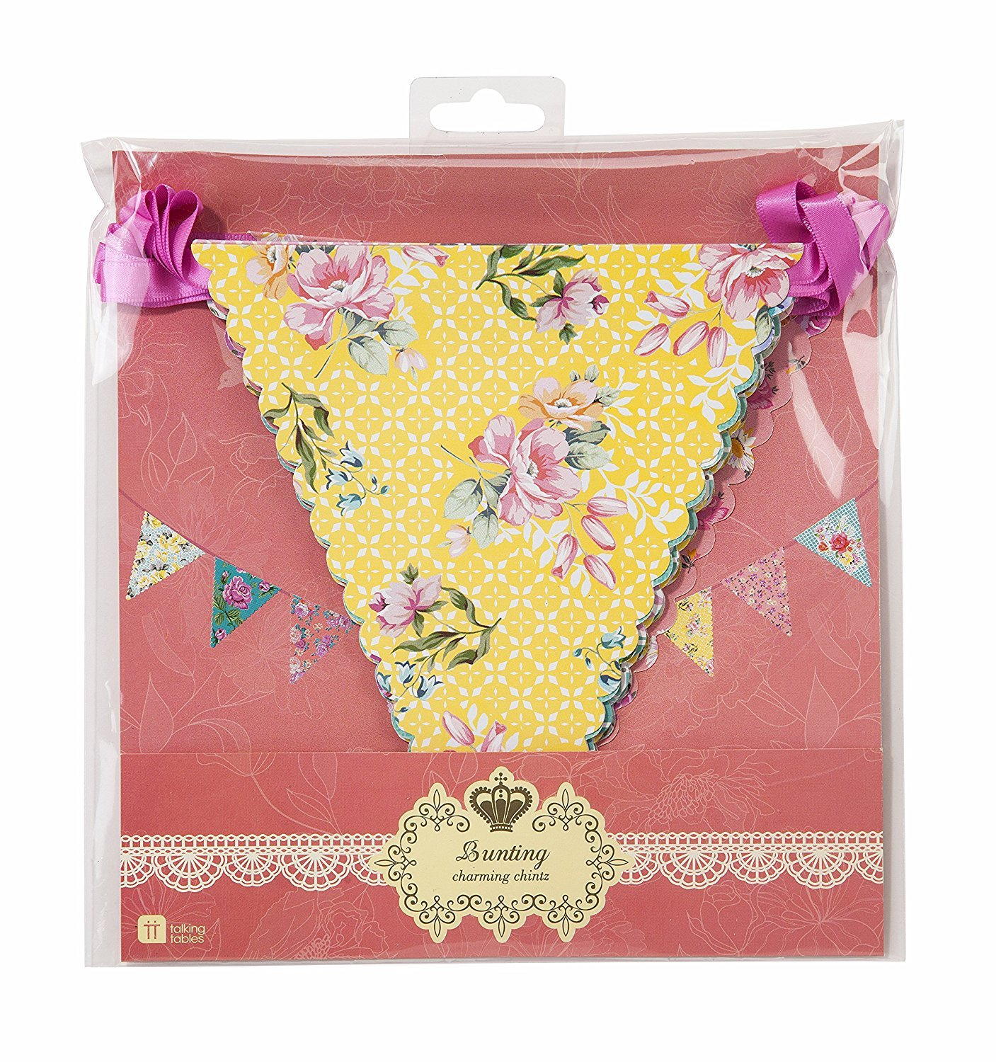 Talking Tables 2 X Truly Scrumptious Celebration Bunting Multicolored