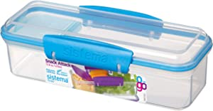 Sistema Snack Attack to Go Snack and Dip Container, 1.7 Cup
