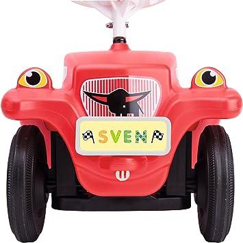 BIG Bobby Car Mein Nummernschild Kennzeichen für Auto mit