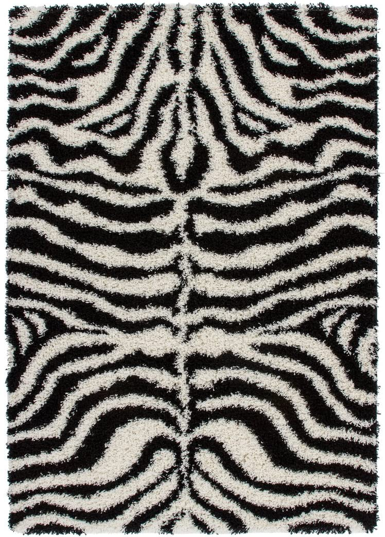 Teppich JOY Designer Hochflor Shaggy 80x150 beige