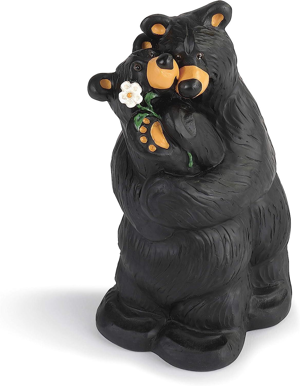 DEMDACO Summer Love Couple Midnight Black 5 x 3 Resin Stone Collectible Figurine