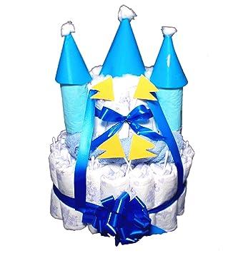 Das perfekte Geschenk zur Geburt /& Taufe Windeltorte Junge