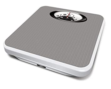 Salter Magnified Display Mechanical Bathroom Scale, Chrome