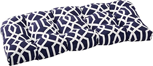 Quality Outdoor Living 29-NL1SLV Tufted Loveseat/Bench Cushion