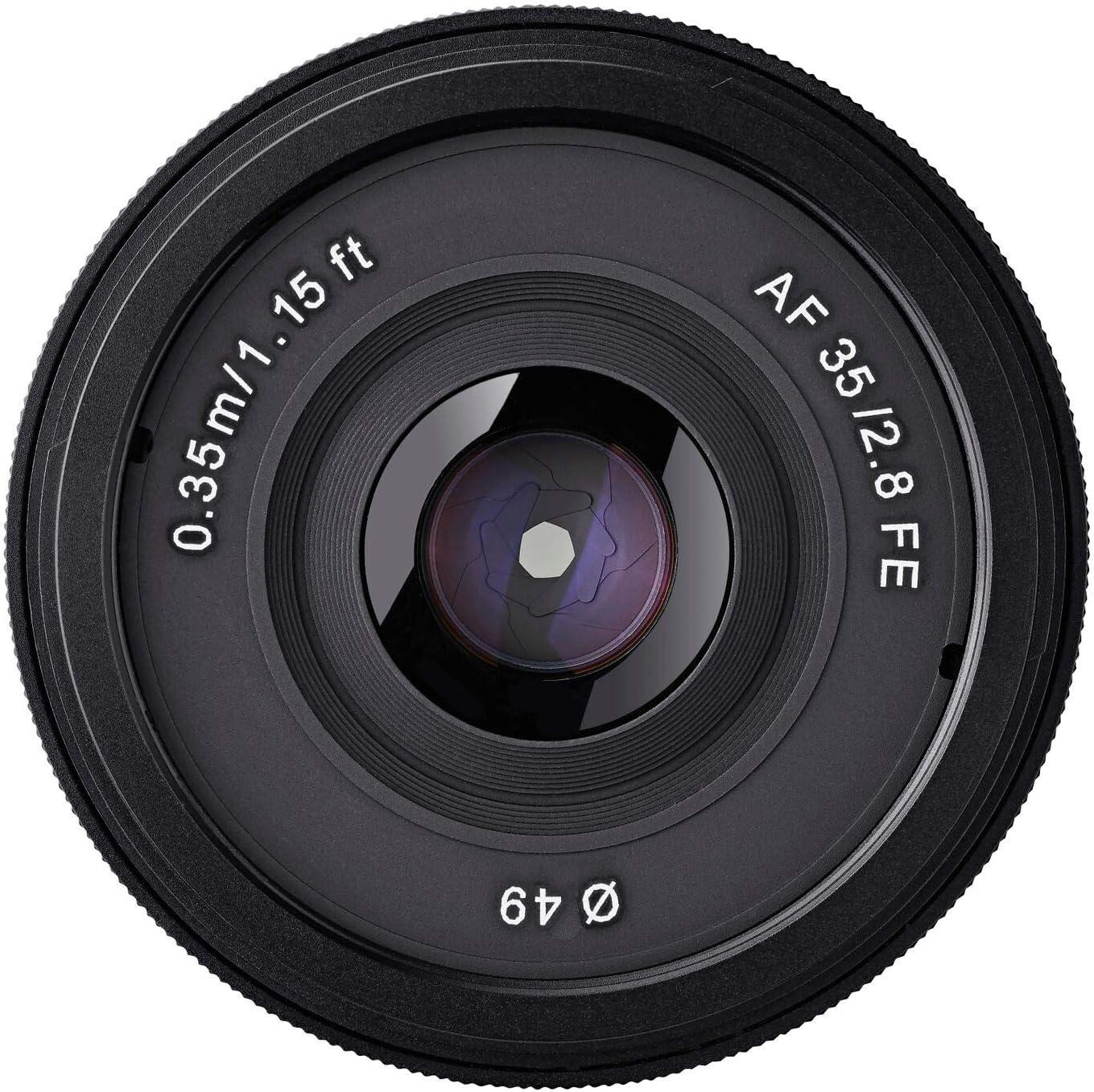 Samyang Syio35af E 35 Mm F 2 8 Ultra Compact Wide Angle Camera Photo
