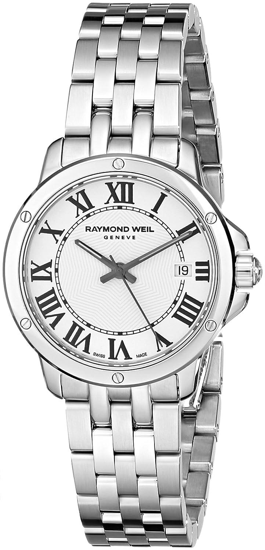 Raymond Weil Women s 5391-ST-00300 Tango Analog Display Swiss Quartz Silver Watch