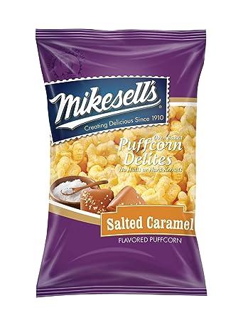 mikesell de 5,5 oz. caramelo salado puffcorn delites – 1 ...