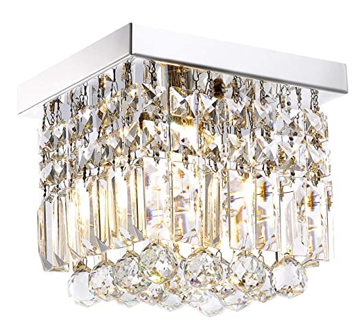 Moooni Hallway Crystal Chandelier 1 - Light W8\