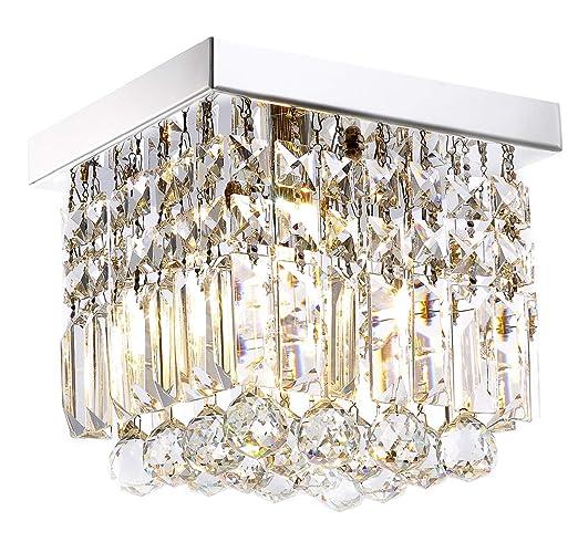 Moooni Hallway Crystal Chandelier 1 - Light W8\
