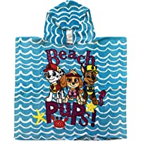 Girls Paw Patrol Beach Hooded Towels