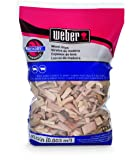 Weber-Stephen Products 17143 Hickory Wood Chips, 192 cu. in. (0.003 cubic meter)