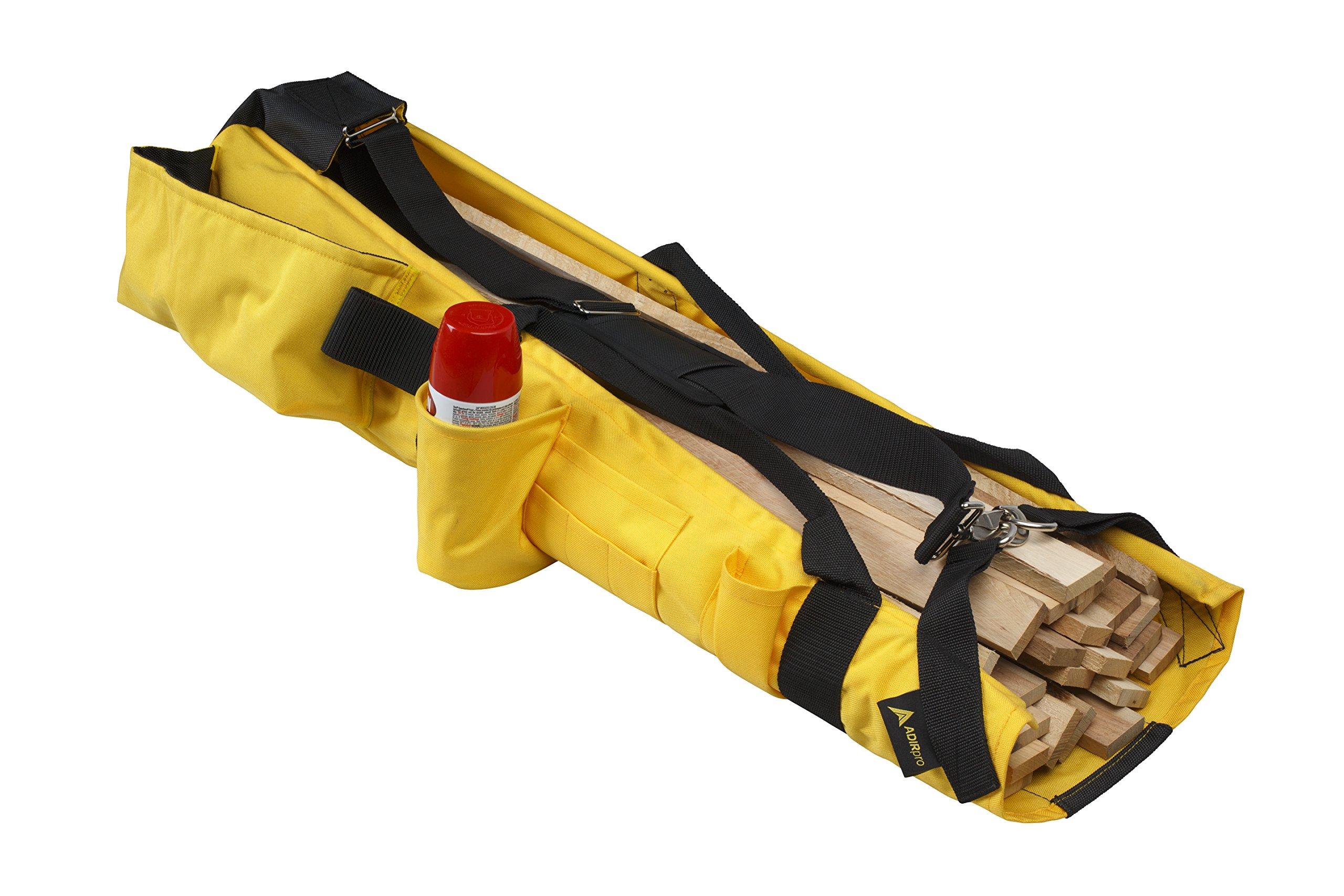 AdirPro Lath Shoulder Bag with Reinforced Base