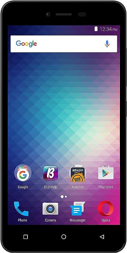 BLU Estudio M 4G LTE Dual SIM gsm Desbloqueado Quad-Core Android Smartphone w/cámara de 8 megapíxeles: Amazon.es: Electrónica