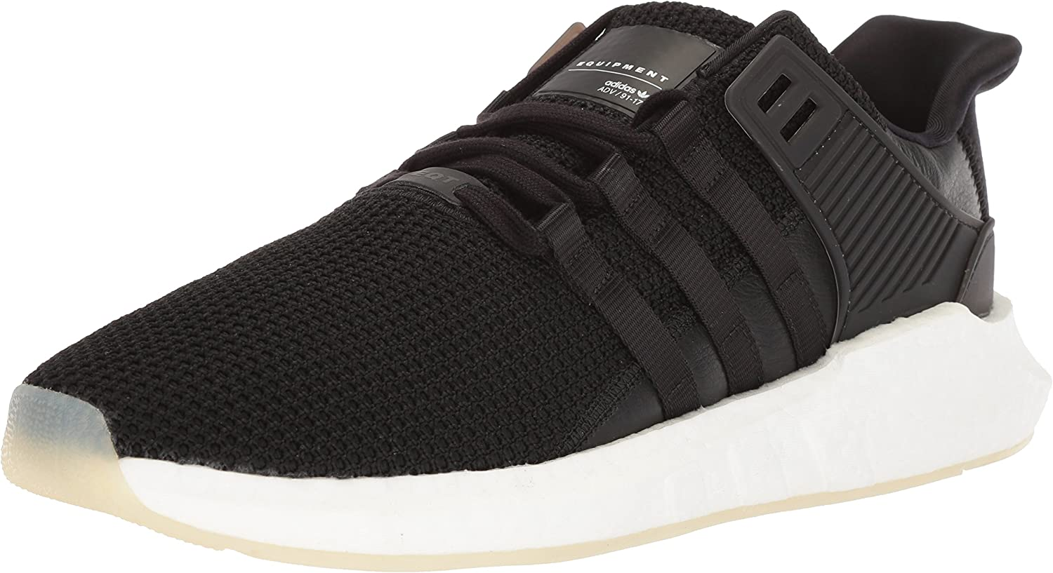 adidas Originals Men s EQT Support 93 17 Running Shoe, core Black core Black White, 10.5 M US
