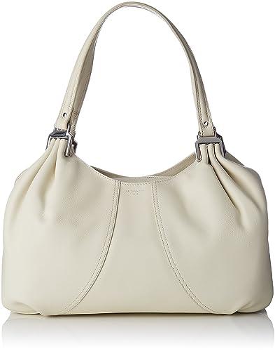 627cb32d951e LE TANNEUR femme Alice Thx1001 Sac porte epaule Blanc Casse (Cocon)  Amazon. fr  Chaussures et Sacs