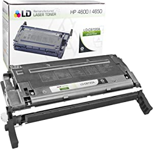 LD Remanufactured Toner Cartridge Replacement for HP 641A C9720A (Black)