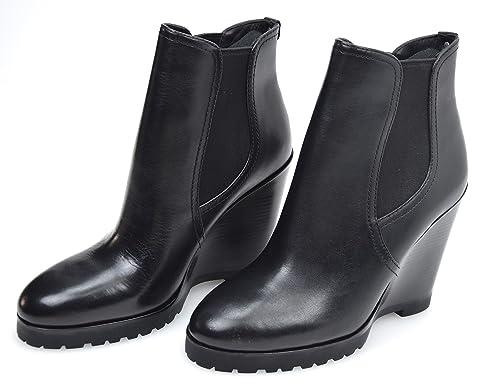 MICHAEL KORS Botines EN EL Tobillo para Mujer Art. 40F5THHE5L THEA Wedge 36,5/6,5M Nero - Black: Amazon.es: Zapatos y complementos