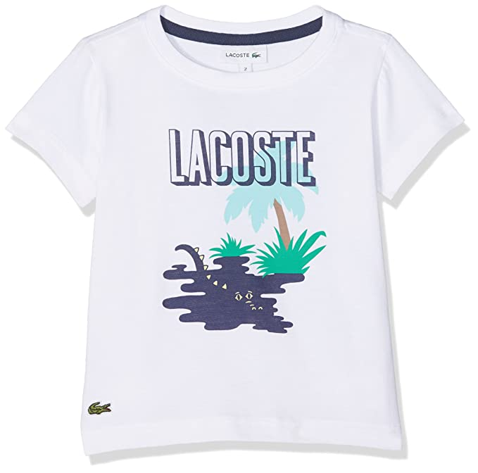 Lacoste Camiseta Para Niños