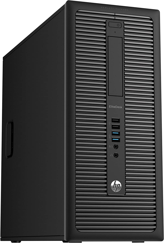 HP EliteDesk 800 G1 Tower Premium Business Computer PC (Intel Core i5-4570 upto 3.6GHz, 8GB Ram, 1TB HDD, 3.0 USB, Wireless WIFI, Display Port) Windows 10 Professional (Renewed)