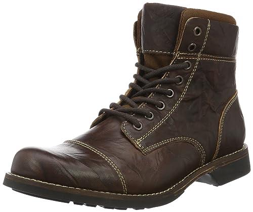 ALDO 48546571, Botas Cortas Hombre, Marrón (Dark Brown/22), 41 EU: Amazon.es: Zapatos y complementos