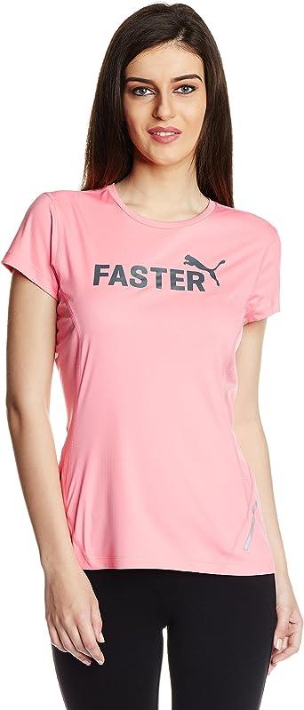PUMA T-Shirt Cool Graphic Short Sleeve tee W - Camiseta, Color: Amazon.es: Ropa y accesorios