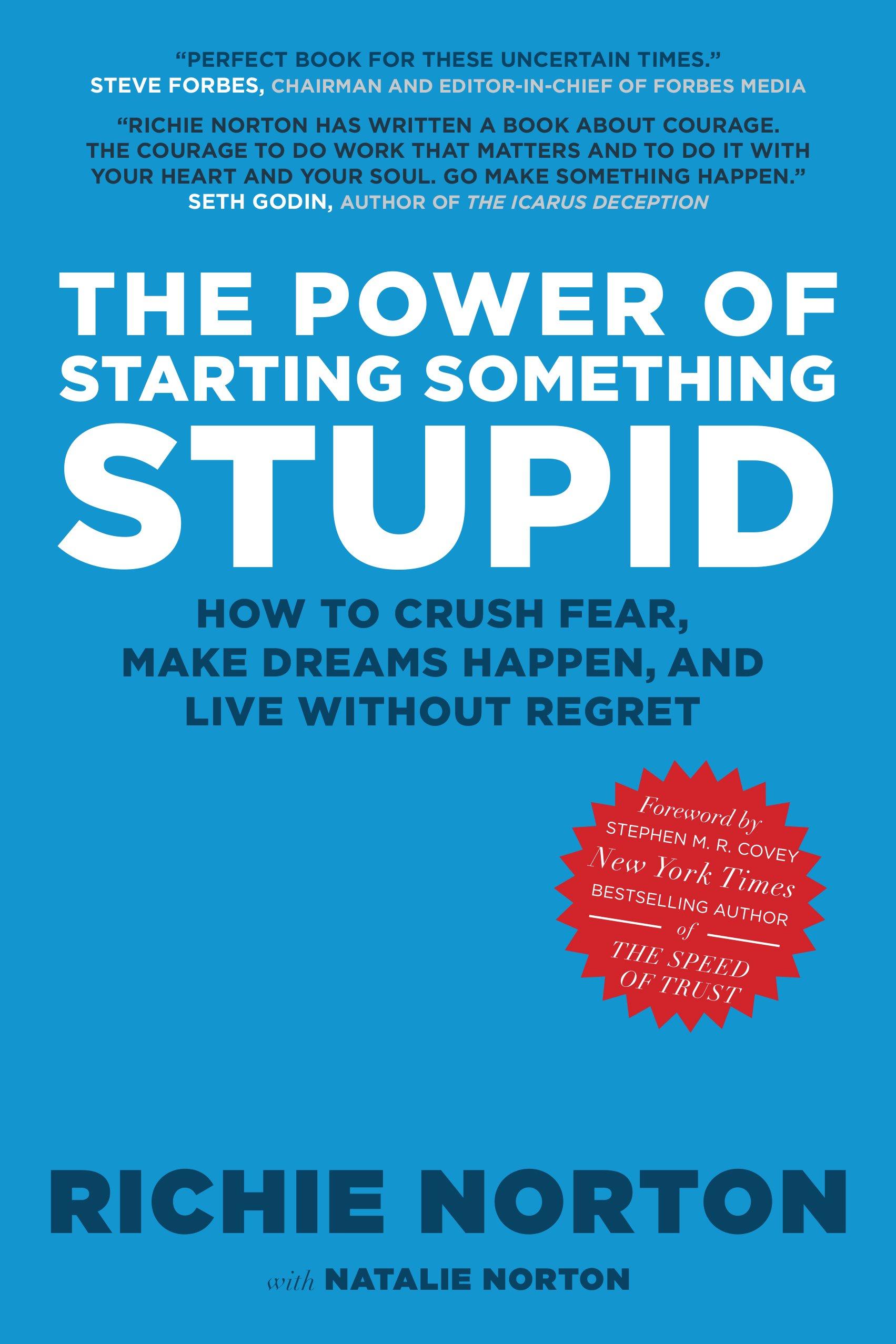 The Power Of Starting Something Stupid: Richie Norton: 0783027070095:  Amazon: Books