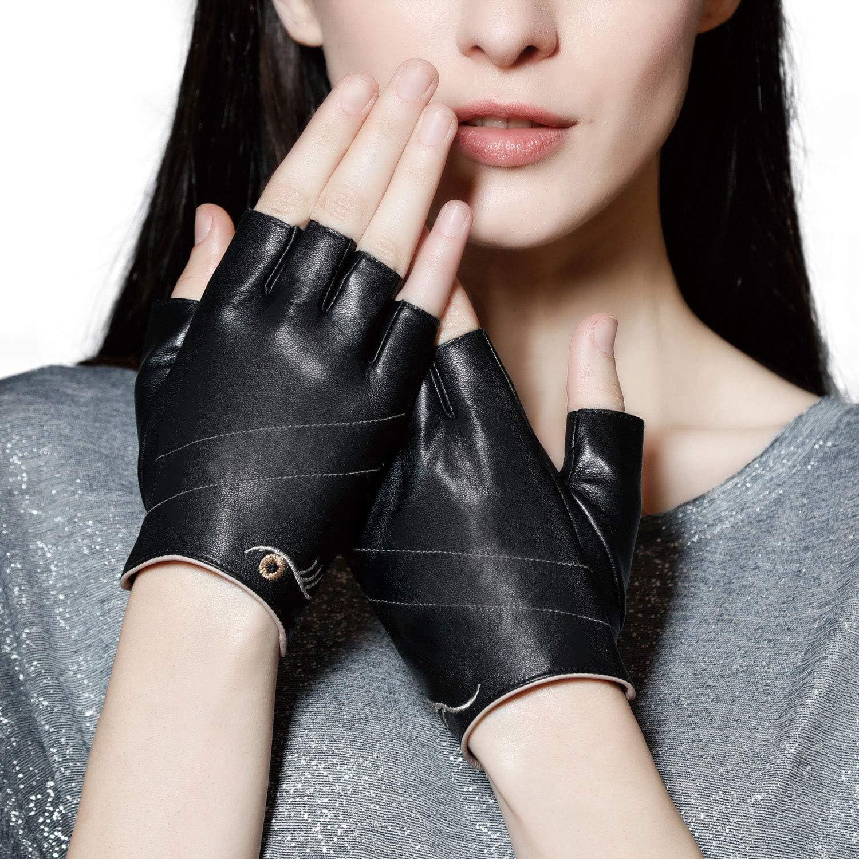Fingerless Gloves Glove Half Finger Glove 1 Pair Driving Women Glove