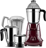 Butterfly Jet 750-Watt Mixer Grinder with 4 Jars (Cherry)