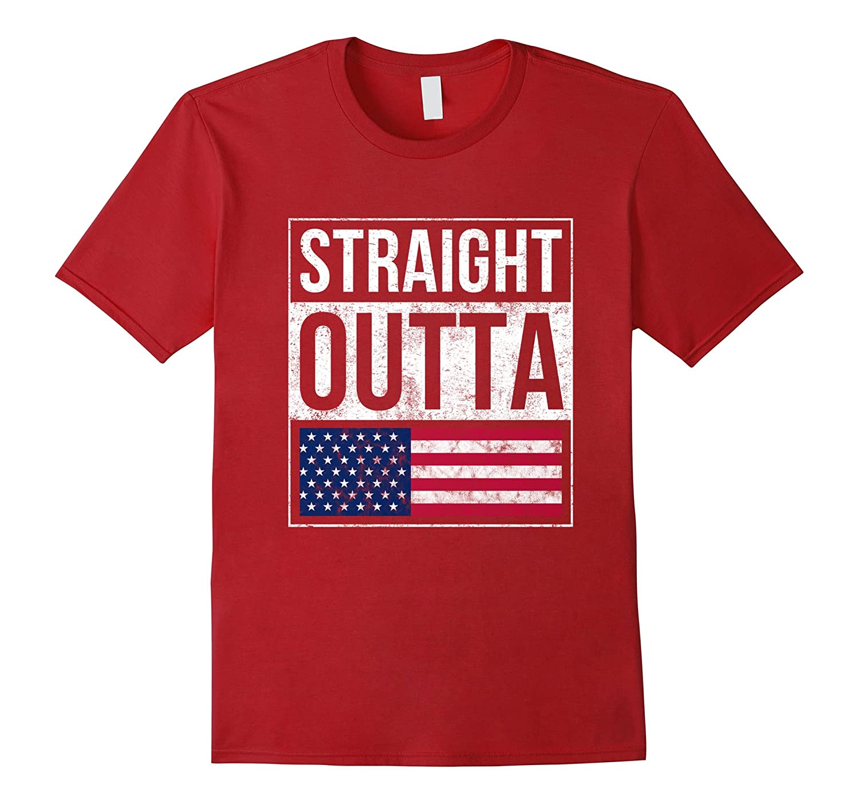 fbfaefdbb0cd0 Funny USA Flag Shirt 4th of July for Women Men Boys Girls ...