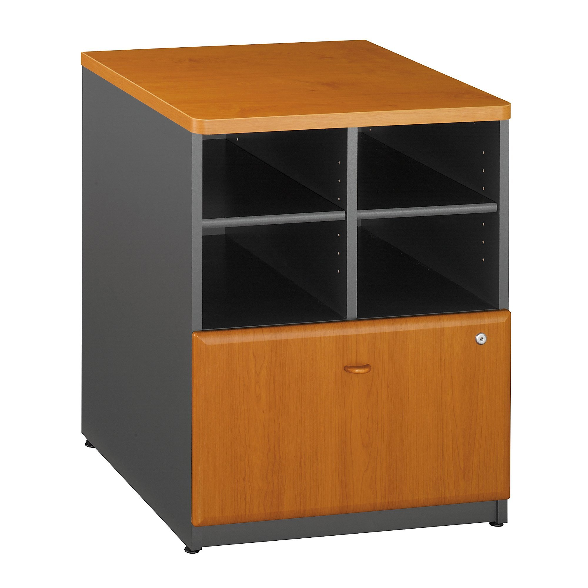 Bush Business Furniture Series A Collection 24W Piler Filer in Natural Cherry by Bush Business Furniture