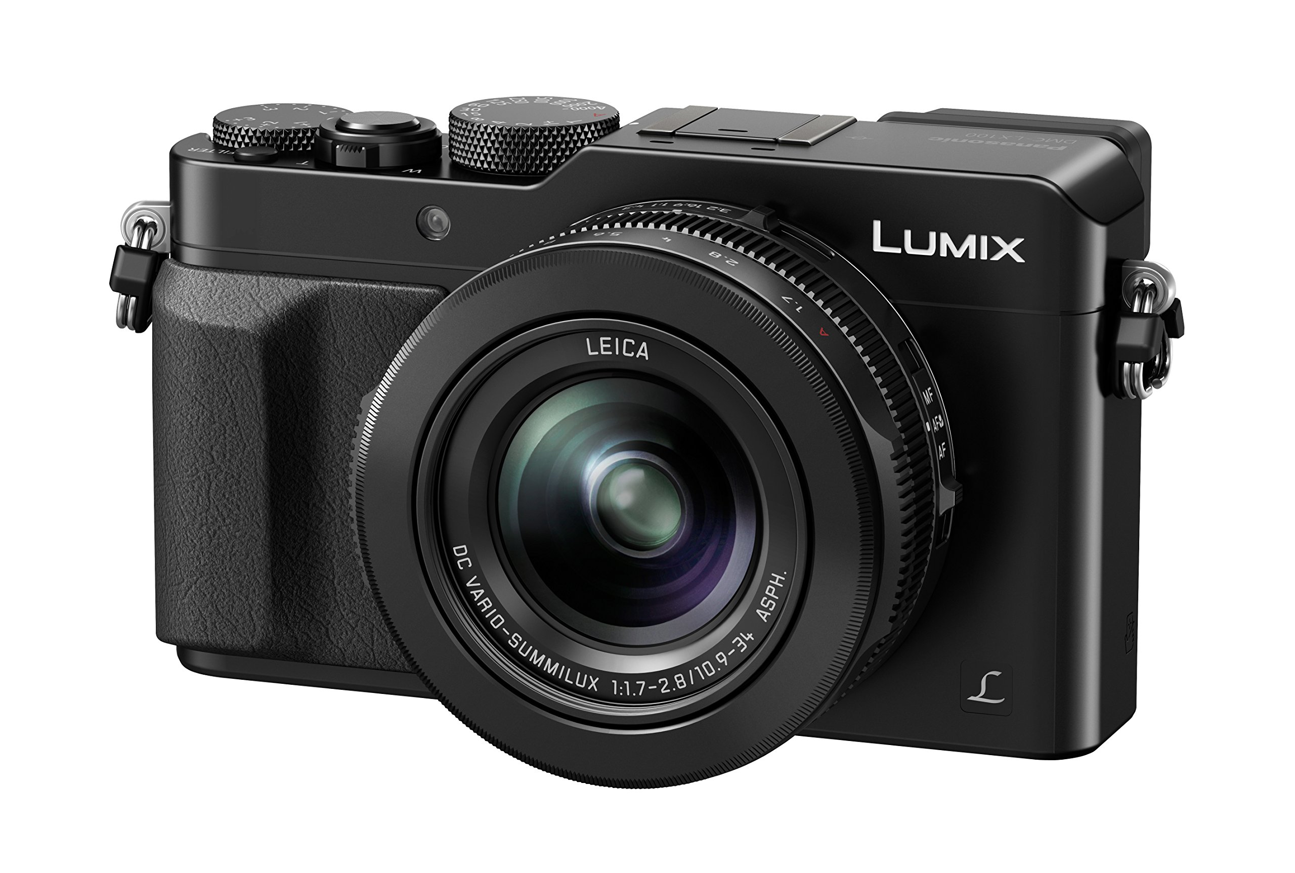 Panasonic Lumix DMC-LX100 Fotocamera Digitale, 12.8 Megapixel, Nero product image