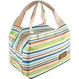 Yometome 保冷バッグお弁当 ランチバッグ 弁当袋 保温バッグ 手提げ 通勤 学校 夏祭り 部活 食品収納 タイプ選択