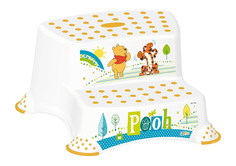 2er Set Z Winnie Pooh weiß WC Aufsatz + Hocker zweistufig Toilettentrainer OKT Kids