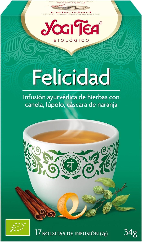 Yogi Tea Infusión de hierbas Felicidad 34 gr