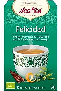 Yogi Tea 1172 - Infusión de hierbas Felicità, 34 gr