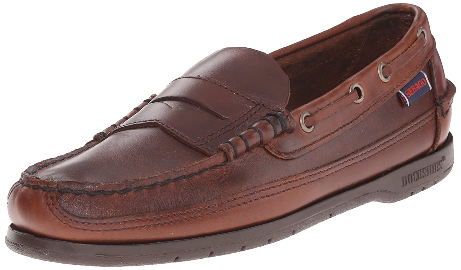 Sebago SLOOP Herren Slipper  43.5 EU|Braun (Brown)