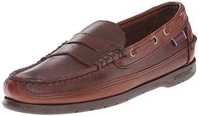 Sebago Men's Sloop Oxford,Brown Oiled,6.5 ...