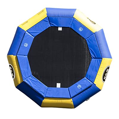 RAVE Sports Aqua Jump Eclipse 120 Water Trampoline (12 Foot) : Rave Eclipse Water Trampoline : Sports & Outdoors